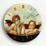 Angel clock pic